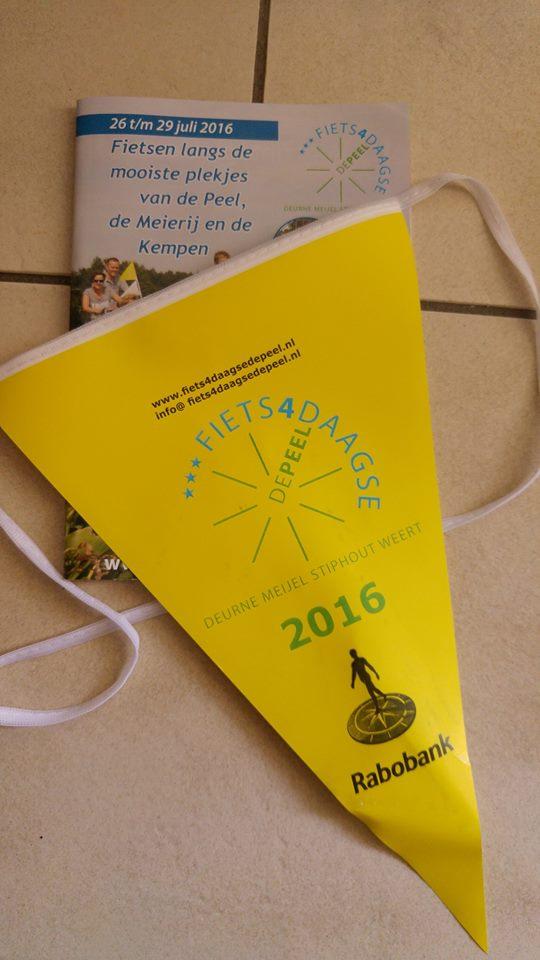 Dag 1 Fietsvierdaagse Deurne