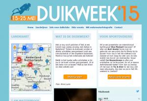 Duikweek 2015 – van 15 mei t/m 25 mei